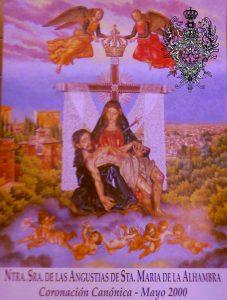 2000. Cartel Oficial de la Coronación Canónica (Hipólito Llanes)