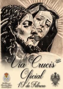 2016. Cartel del Vía Crucis Oficial (Antonio Costela)